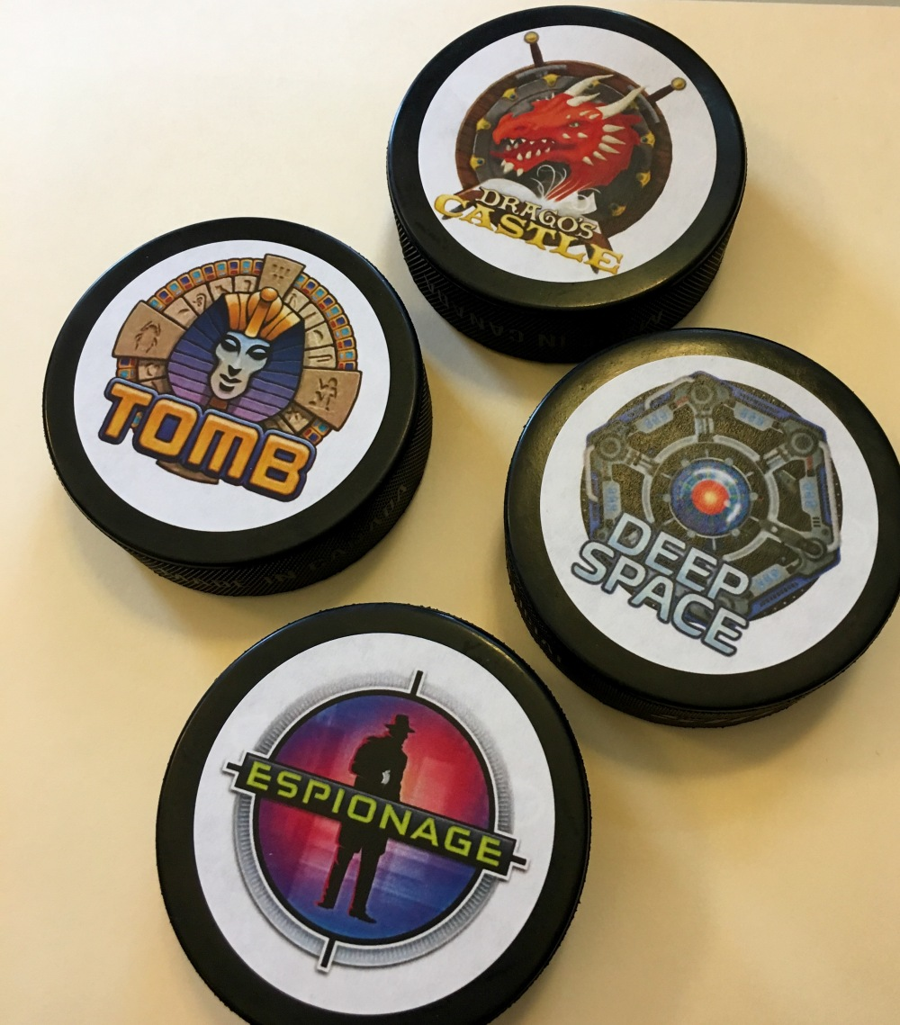 5 Wits Hockey Pucks